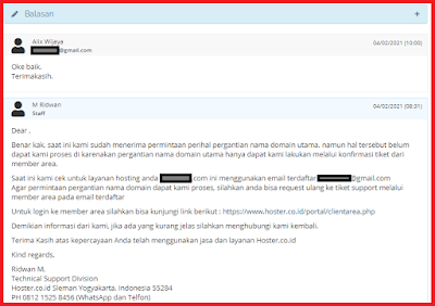 Layanan Hosting dari Hoster.co.id