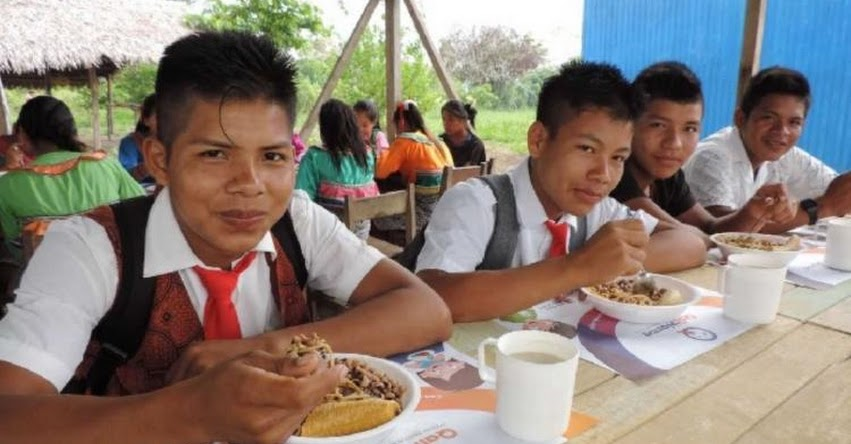QALI WARMA: Programa social garantiza alimentación a más de 11 mil alumnos de la Amazonía - www.qaliwarma.gob.pe