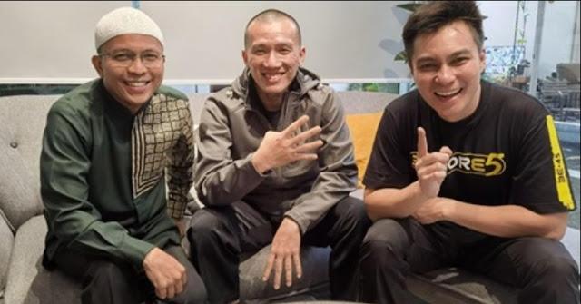 Baim Wong Ustadz Felix Siauw dan Ustadz Fatih Karim