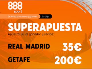 Superapuesta 888sport Real Madrid v Getafe 2-7-2020