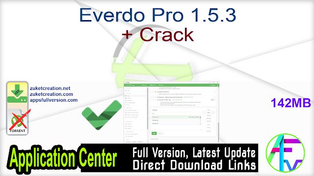 Everdo Pro 1.5.3 + Crack