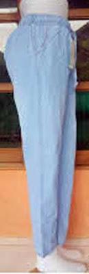 Baggy adalah celana dengan siluet Y, menggelembung pada bagian atas dan menyempit ke bawah dan panjangnya sampai mata kaki