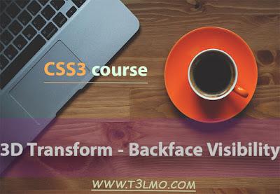 شرح Backface Visibility في لغة Css3