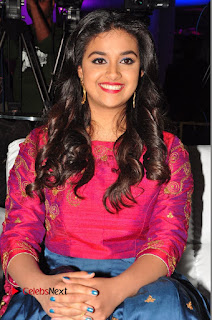 Actress Keerthi Suresh Stills at Remo Success Meet  0128.JPG