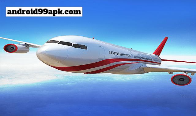 لعبة Flight Pilot Simulator 3D v2.1.14 مهكرة بحجم 75 ميجابايت للأندرويد
