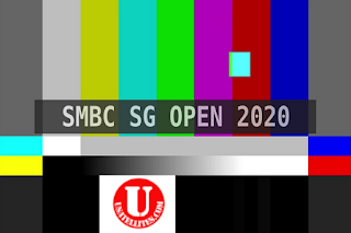 Asian Tour SMBC Singapore Open AsiaSat 5 Biss Key 18 January 2020