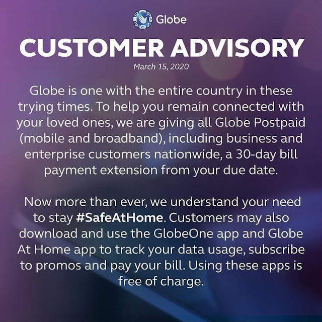 Globe Bills Payment Extension