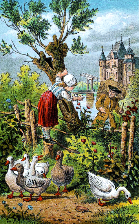 Everything in its proper place - a fairy tale by Hans Christian Andersen