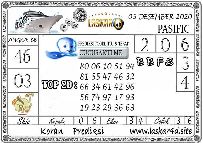 Prediksi Togel PASIFIC LASKAR4D 05 DESEMBER 2020