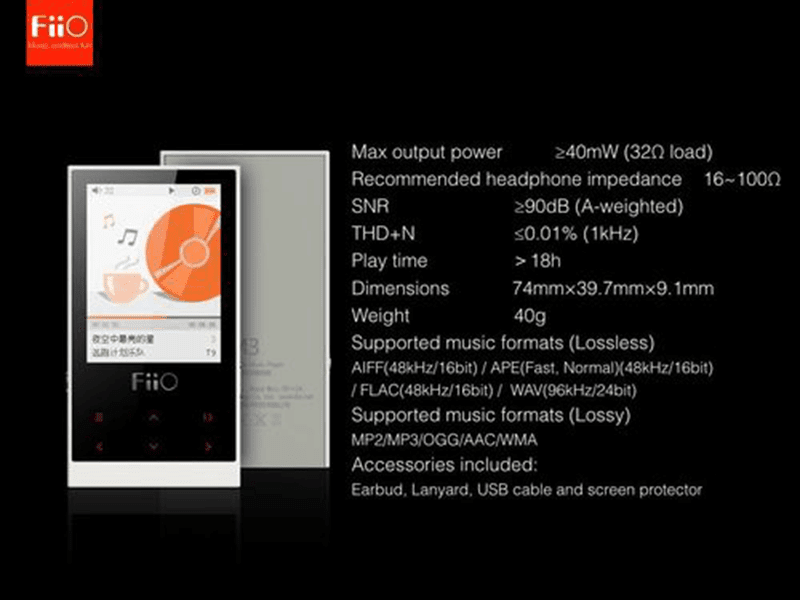 FiiO M3 Announced, An Ultra Low Cost HiFi DAP For Just 2500 Pesos?