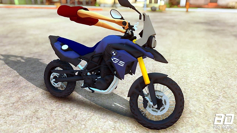 Download mod moto BMW Gs F800 Leve para GTA San Andreas