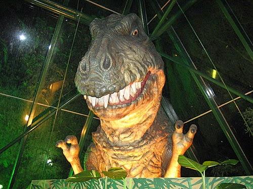 可怕的暴龍(圖片來源﹕http://ticketsz.blogspot.hk/)