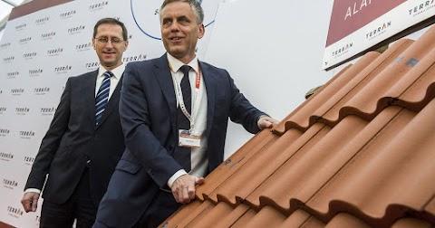 Új tetőcserépgyárat épít a Terrán Kunszentmiklóson