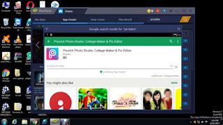 PicsArt on PC using Android Emulators.