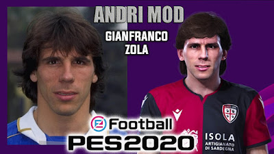 PES 2020 Faces Zola by Andri Mod