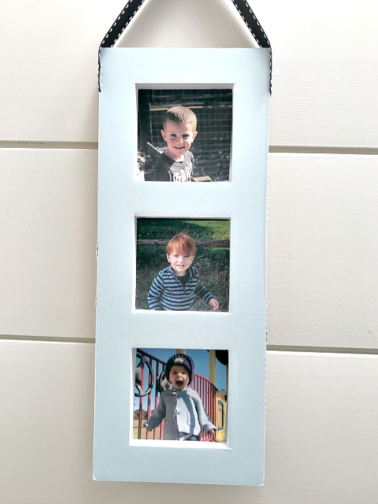 DIY Recycled and Repurposed Photo Display. Homeroad.net