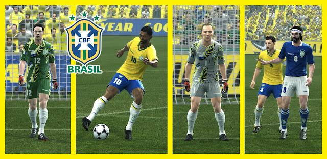PES 2013 GDB Classic BRAZIL by dodyferro & ROCOLOCO