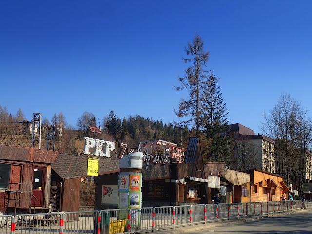 Zakopiański dworzec