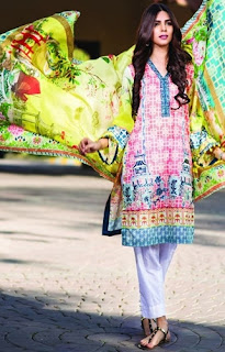 Pareesa Lawn collection 2016 by ChenOne