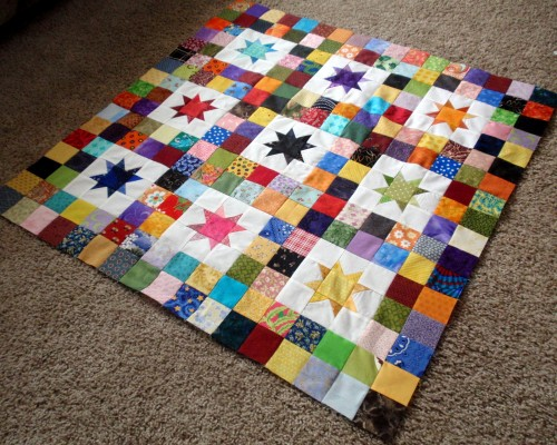 Twinkle Baby Quilt - Tutorial