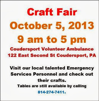 10-5 Craft Fair Coudersport
