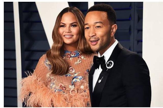 John Legend is in Nigeria – His 41-year-old wife Chrissy Teigen reveals