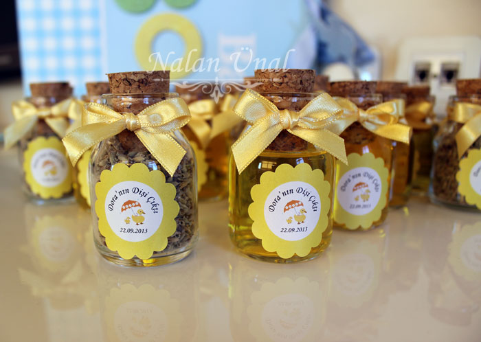sarı temalı hediyelik