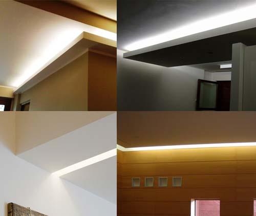 L 39 illuminazione del disimpegno arredamento facile - Neon sopra pensili cucina ...