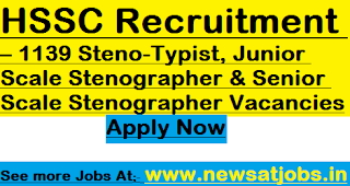 hssc-recruitment-2017-1139-steno-posts