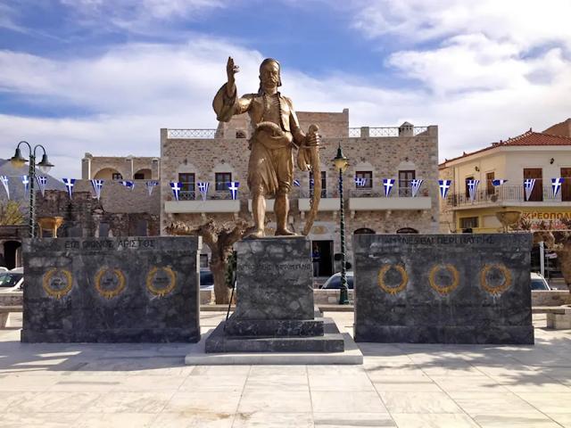 Παρουσία της Προέδρου της Δημοκρατίας η Αρεόπολη τιμά τα 200 χρόνια από τον ξεσηκωμό των Μανιατών