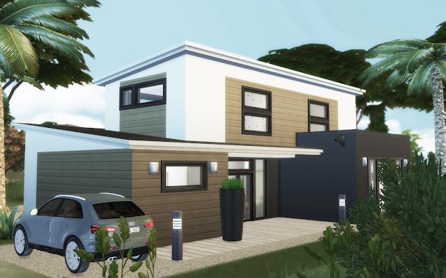 Belle maison Sims 4 à télécharger