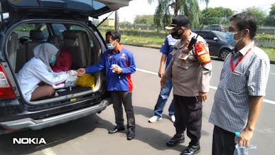 14 Reaktif Covid-19, 120 Massa Aksi Buruh Di Tangerang Jalani Rapid Test