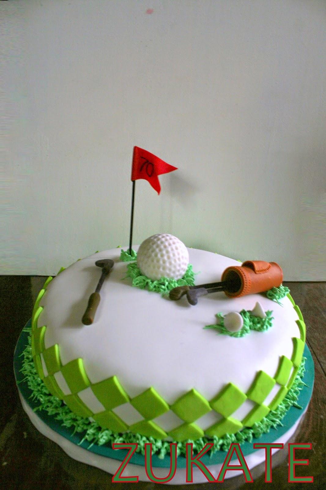 Torta De Golf Para Juan Carlos Zukate