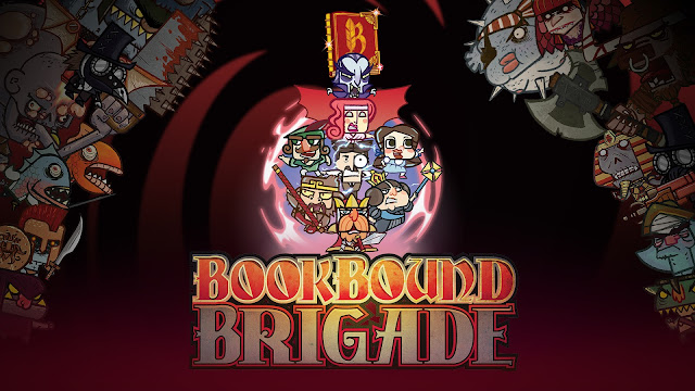 Bookbound Brigade preview; There is no I in team but there is in Brigade!