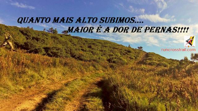 Quanto mais alto subimos maior é a dor de pernas - Nuno Gonçalves - Runcrosstrail.com