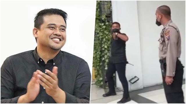 Polisi dan Paspampres Usir Wartawan yang Mau Mewawancarai Bobby Nasution