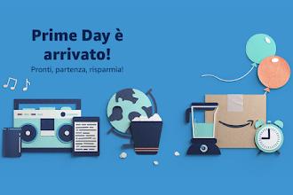 è il Prime Day: iniziano gli sconti imperdibili, specie sui dispositivi Amazon Echo (Alexa)!