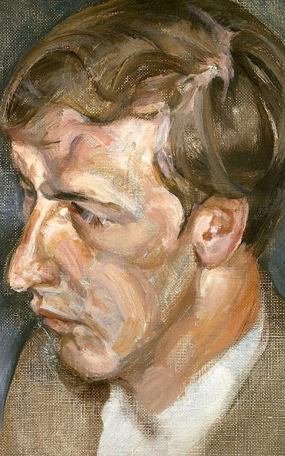 Lucian Freud (1922-2011) Portrait of Duke of Devonshire Private collection
