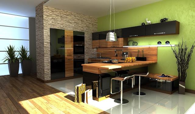 Y tưởng thiết kế nhà bếp - thiết kế số 4