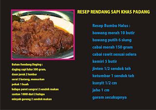Resep Rendang Sapi Khas Padang Empuk dan Enak ommasakom.net