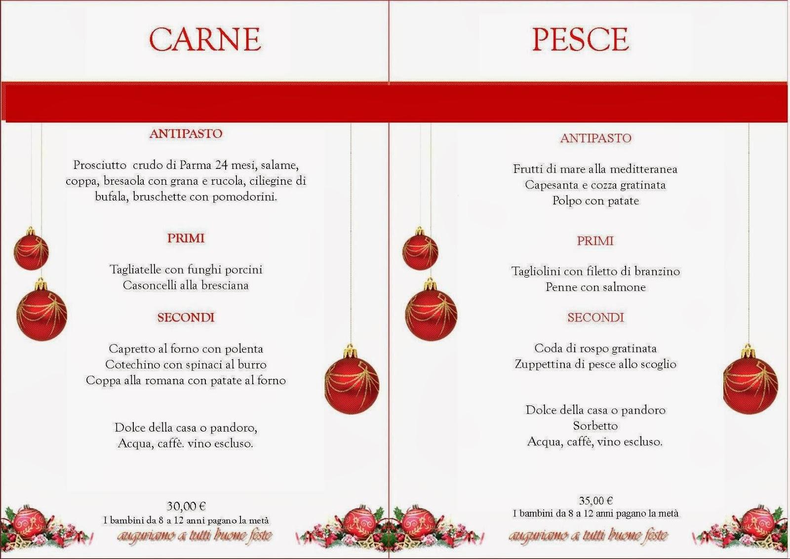 Menu Di Natale Per Due.Ristorante Pizzeria Da Matteo Menu Di Natale Per Info