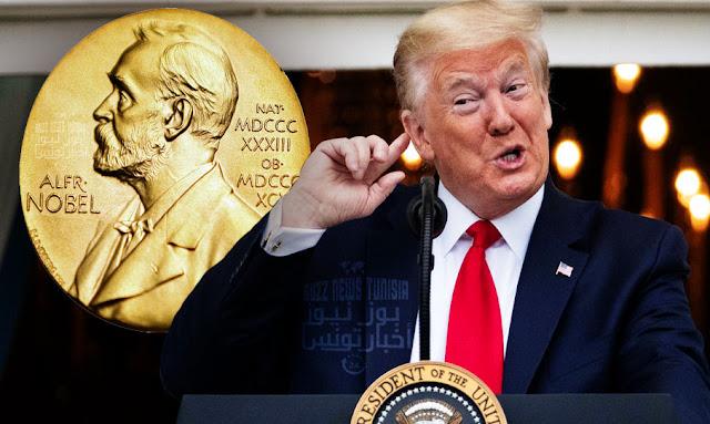 Donald Trump gets Nobel Peace Prize nomination