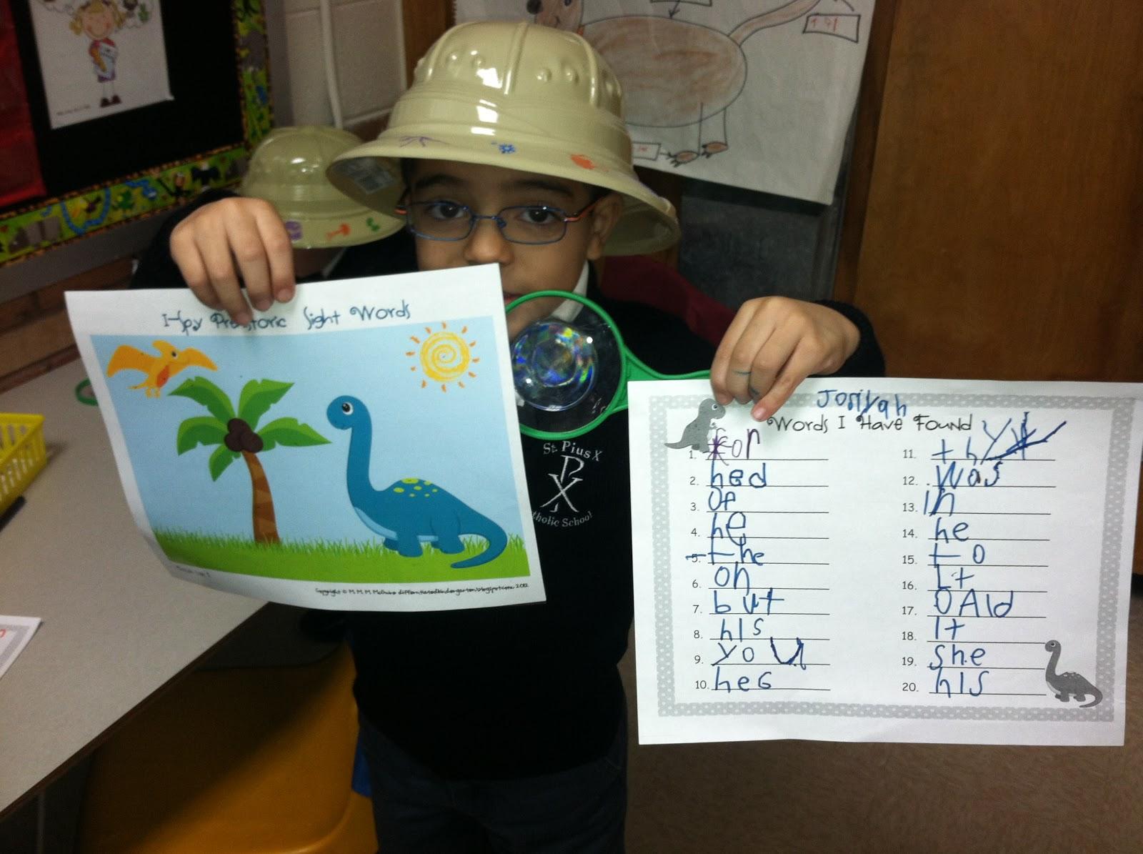 Ms Solano S Kindergarten Class Dinosaurs Their Favorite Unit