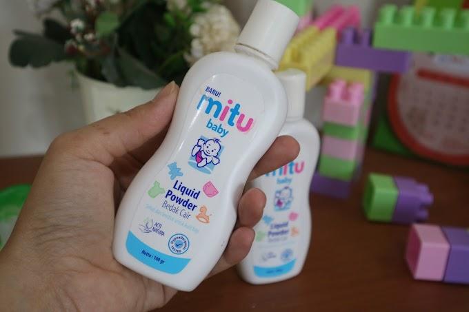 Bedak Aman Untuk Si Kecil | Mitu Baby Liquid Powder