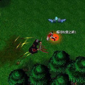 naruto castle defense 6.0 Snow Sakura Dance