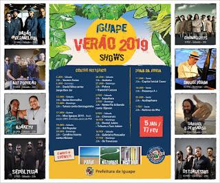 Iguape verão 2019 confira a programação