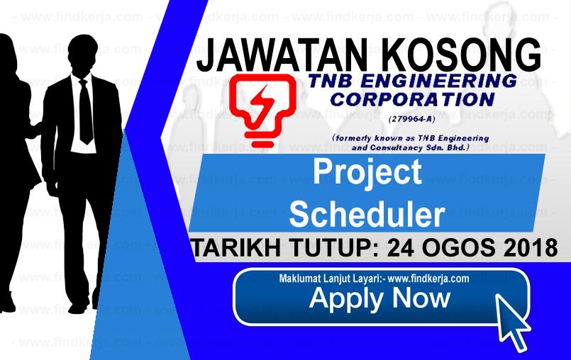 Jawatan Kerja Kosong TNB Engineering Corporation logo www.ohjob.info www.findkerja.com ogos 2018