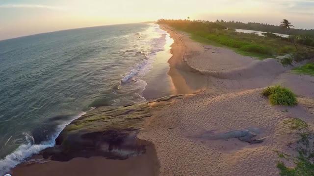 Пляжи Кахандамодары