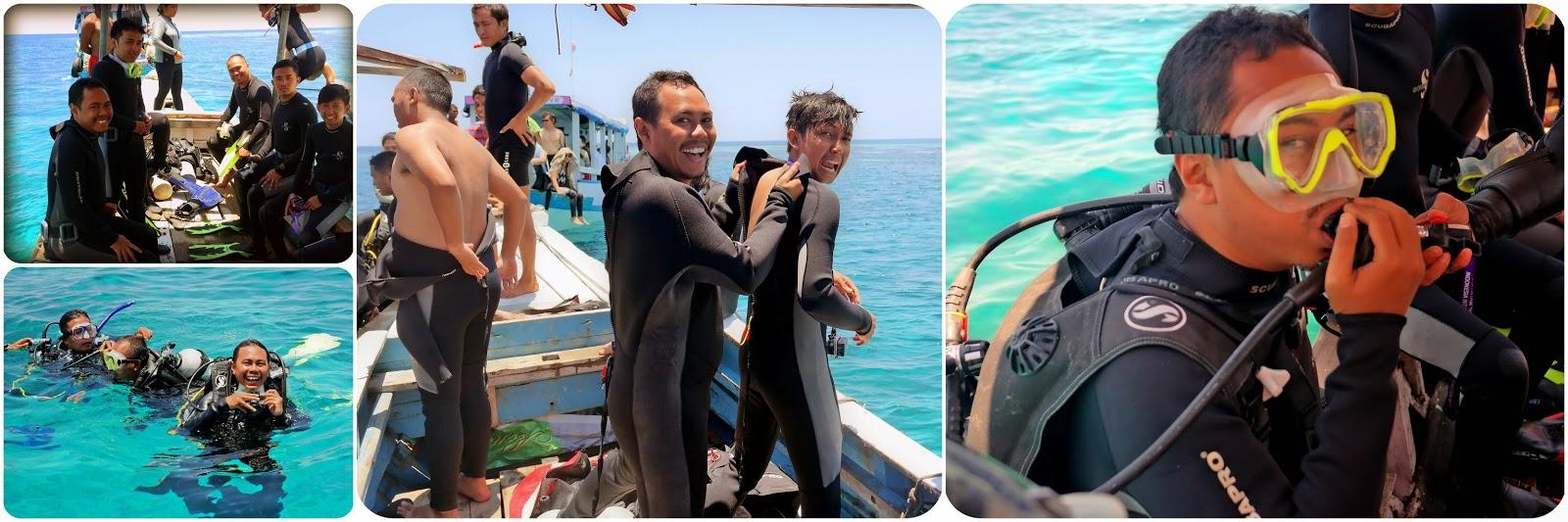 Persiapan Diving Di Tomia Wakatobi