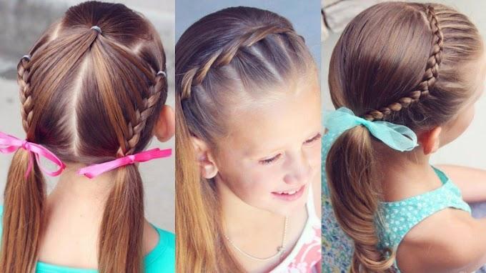 6 preciosos peinados para niñas, ideales para fiestas y celebraciones especiales